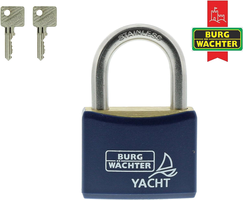 1/Pieza Burg-W/ächter Candado Yacht 460/ni 30/SB