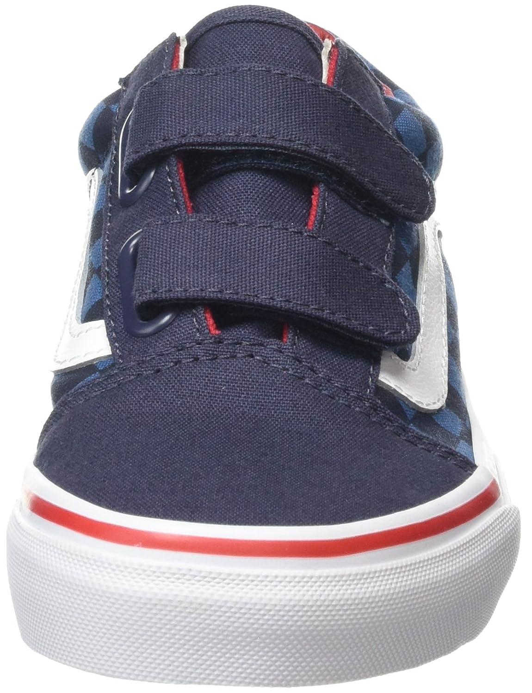 29d8b1c9e81a Vans Unisex Kids  Old Skool V Low-Top Sneakers