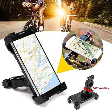 WERNG Soporte para Teléfono Móvil De Bicicleta, Soporte Universal ...