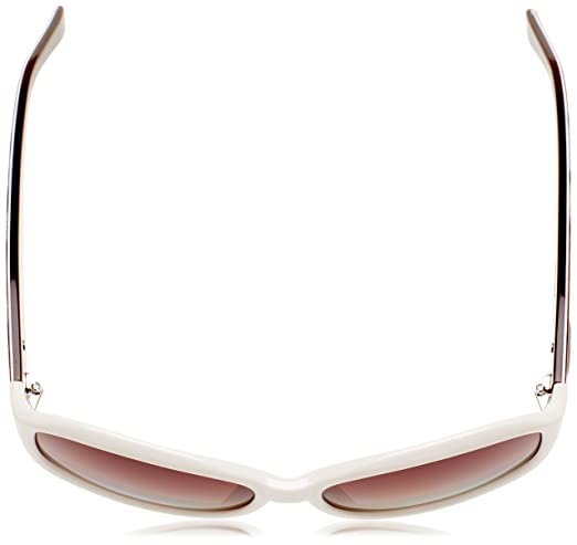 Guess GU2016P_T49 Occhiali da sole, Ovali, Polarizzate, 58, Bianco/Marrone:  Amazon.it: Abbigliamento