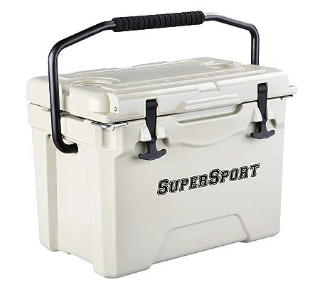 SuperSport 25 Qt. Extreme Performance Rotomolded Cooler