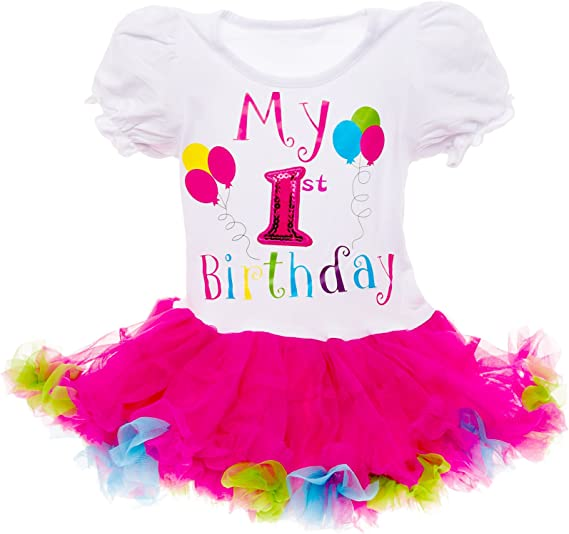 BIRTHDAY GIRL/'S Purple Summer TUTU DRESS Party PRINCESS Present GIFT Celebrate