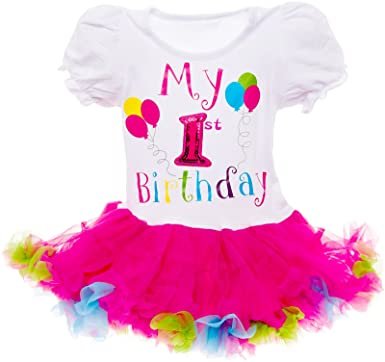 Amazon Silver Lilly Baby Girls Birthday Outfit