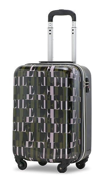 3b83ab913b Amazon   【ELLE】スーツケース キャリーケース 軽量 拡張 エル キャリー ...