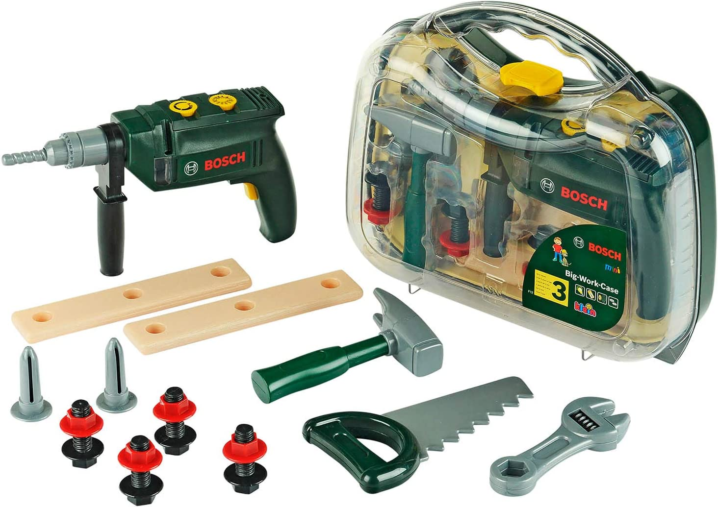 Theo Klein-8416 Bosch maletín de herramientas con taladradora ...