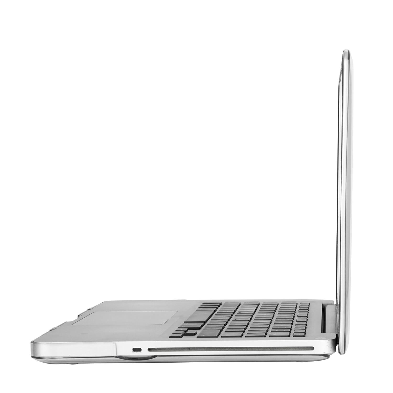MOSISO Custodia Rigida Compatibile con Vecchio MacBook PRO 13 Pollici A1278 con CD-Rom Case 2012//2011//2010//2009//2008 Plastic Case Cover Rigida Copertina,Foschia del Rainbow