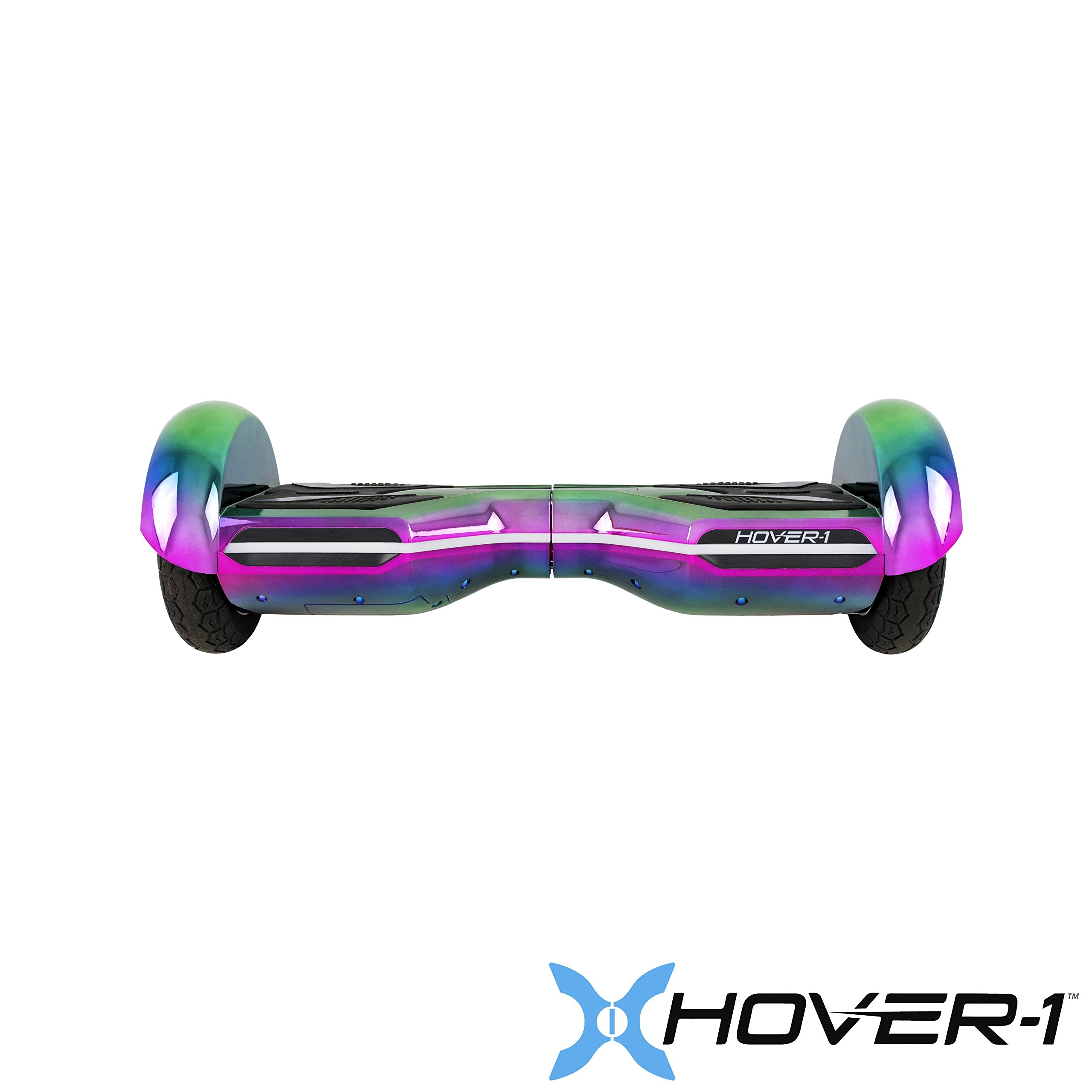 Hover-1 Horizon Electric Self Balancing Hoverboard with LED Lights and App Connectivity Iridescent