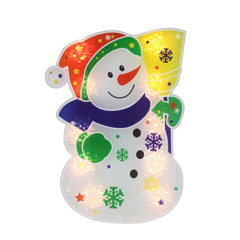 Amazon Com Northlight Christmas Window Decorations Lighted