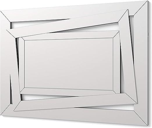 Specchi Sofisticati Classici Verticale Colore Argento Specchi Decorazione per Il Tuo Soggiorno DekoArte VN002 Ingresso Lobby Specchi Veneziani Moderni di Pareti Stanza da Letto 122x62cm