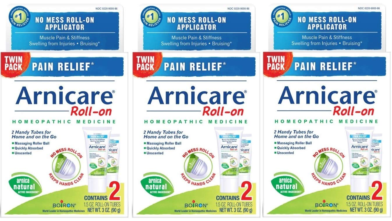 Boiron Arnicare Roll-on, 1.5 Ounce Twin Pack (Pack of 3)