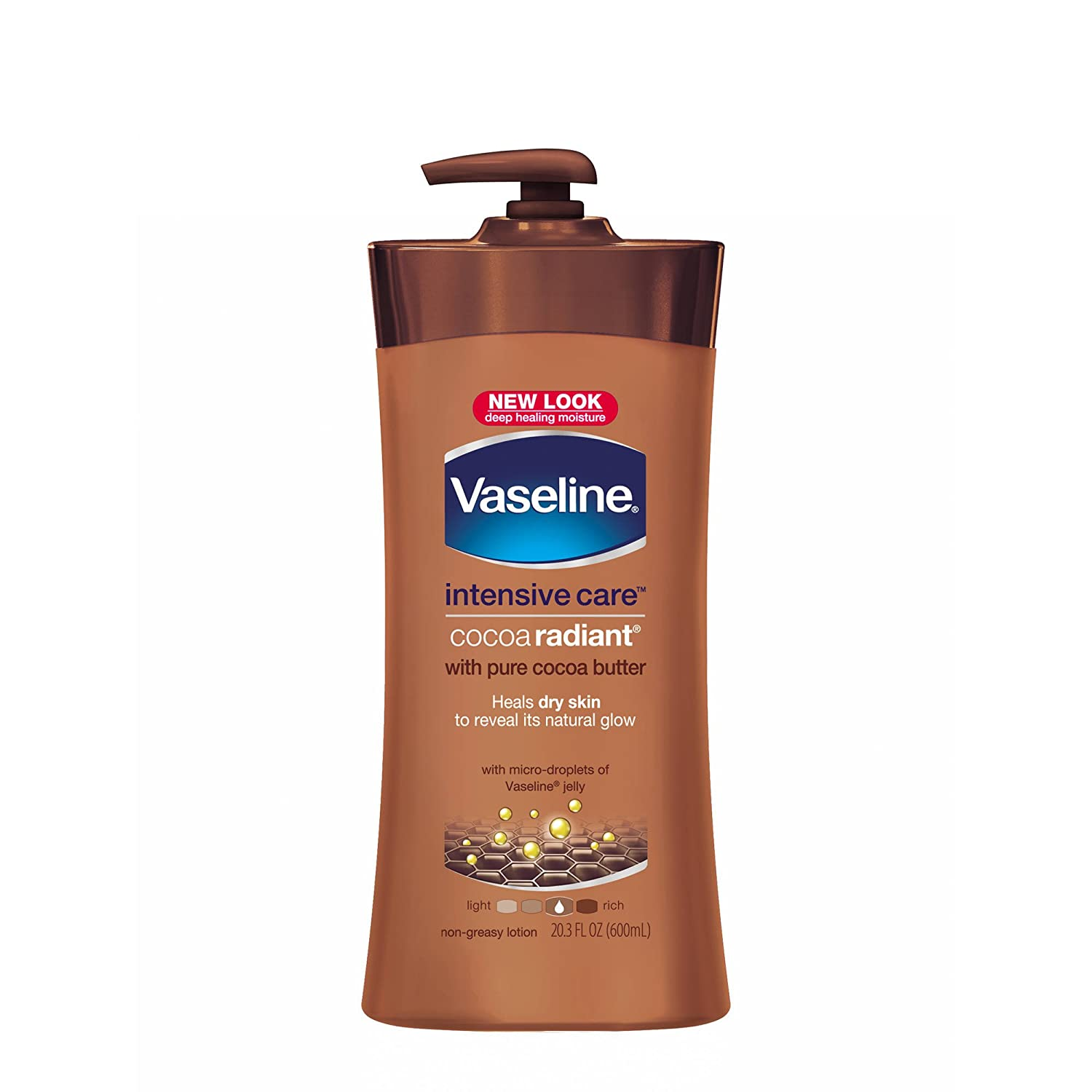 Vaseline Intensive Care hand and body lotion Cocoa Radiant 20.3 oz: Health & Personal Care