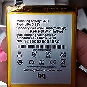 Todobarato24h Bateria BQ Aquaris M4.5/A4.5 2470 mAh Voltaje 4.4v