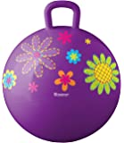Hedstrom Flowers Hopper Ball, Kid's Ride On, Bouncy Ball 18 ""