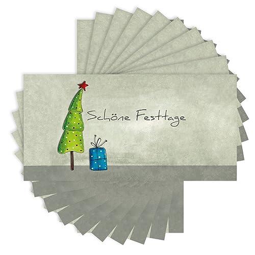 Weihnachtskarten Klappkarten: Amazon.de