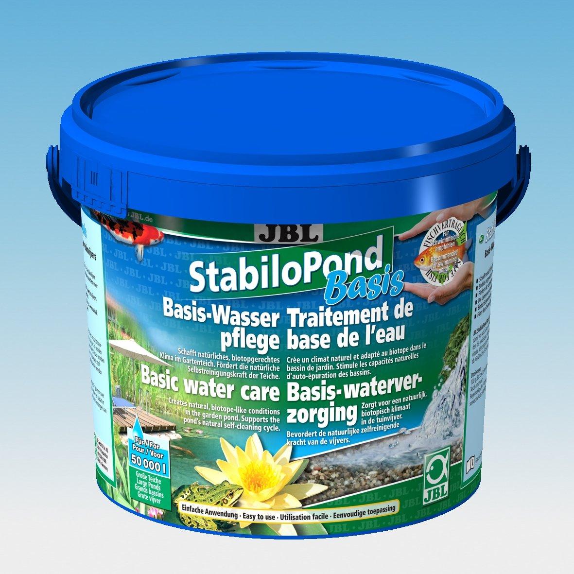 5.0 kg JBL StabiloPond Basis 5kg, Basic care product for all garden ponds