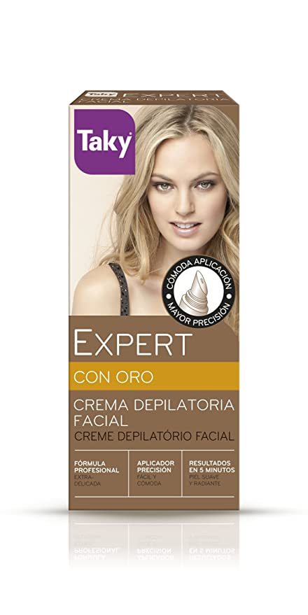 Taky expert crema depilatoria facial