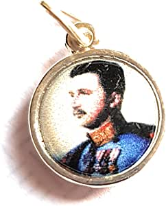 Relic Medals 3rd Class Charles I Austria Blessed Karl King Hungary, Bohemia, Dalmatia, Croatia Carlos de Habsburgo-Lorena y Sajonia Austria y IV de Hungría