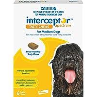 Interceptor® Spectrum Tasty Chews for Medium Dogs 11-22kg (Yellow) - 6 Pack
