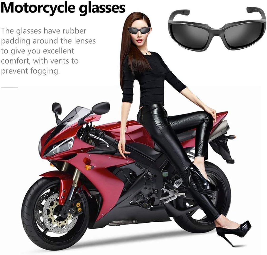 Lunettes de moto Coupe-vent Lunettes anti-poussi/ère Lunettes ext/érieures