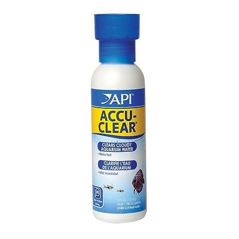API accu-clear Acuario de Agua clarificador,