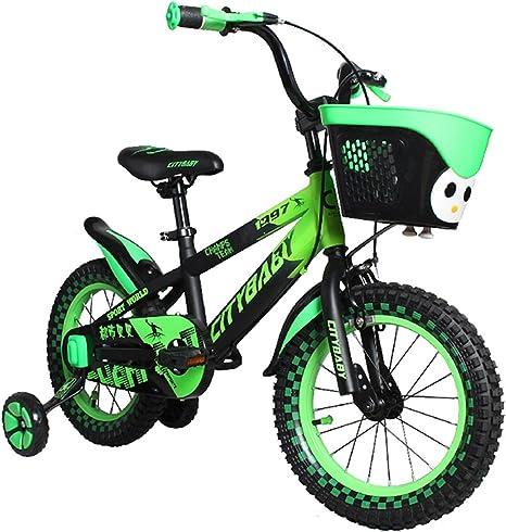 MLSH Bicicleta Para Niños 12 Pulgadas 14 Pulgadas Bicicleta De ...