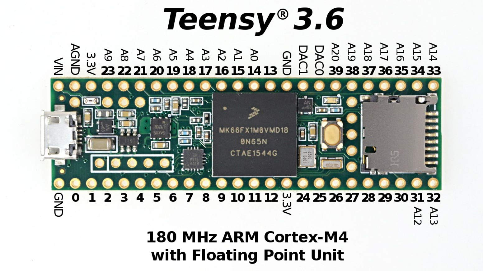 Teensy 3.6 Without Pins