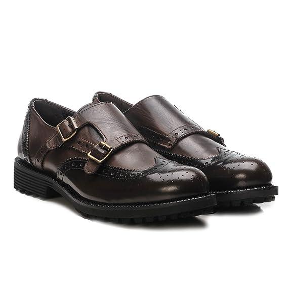 Girardi - Zapatos de cordones de Piel para mujer Marrón marrón 36 NnwDsADCT