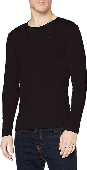 TALLA L. G-STAR RAW Base R T L/S 1-Pack Camisa Manga Larga para Hombre