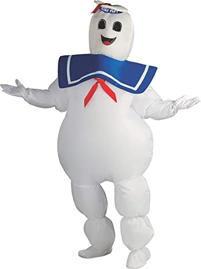 Ghostbusters Men or women/'s or Stay-puff Mashmallow Adult Costumes Rubies