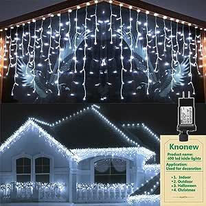 2 boxes DIEHARD Warm White ICICLE 100 LIGHTS LED Christmas Wedding Lights NEW