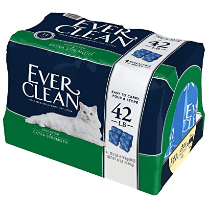 Amazon.com: Aserrín para gatos de Ever Clean, extra ...