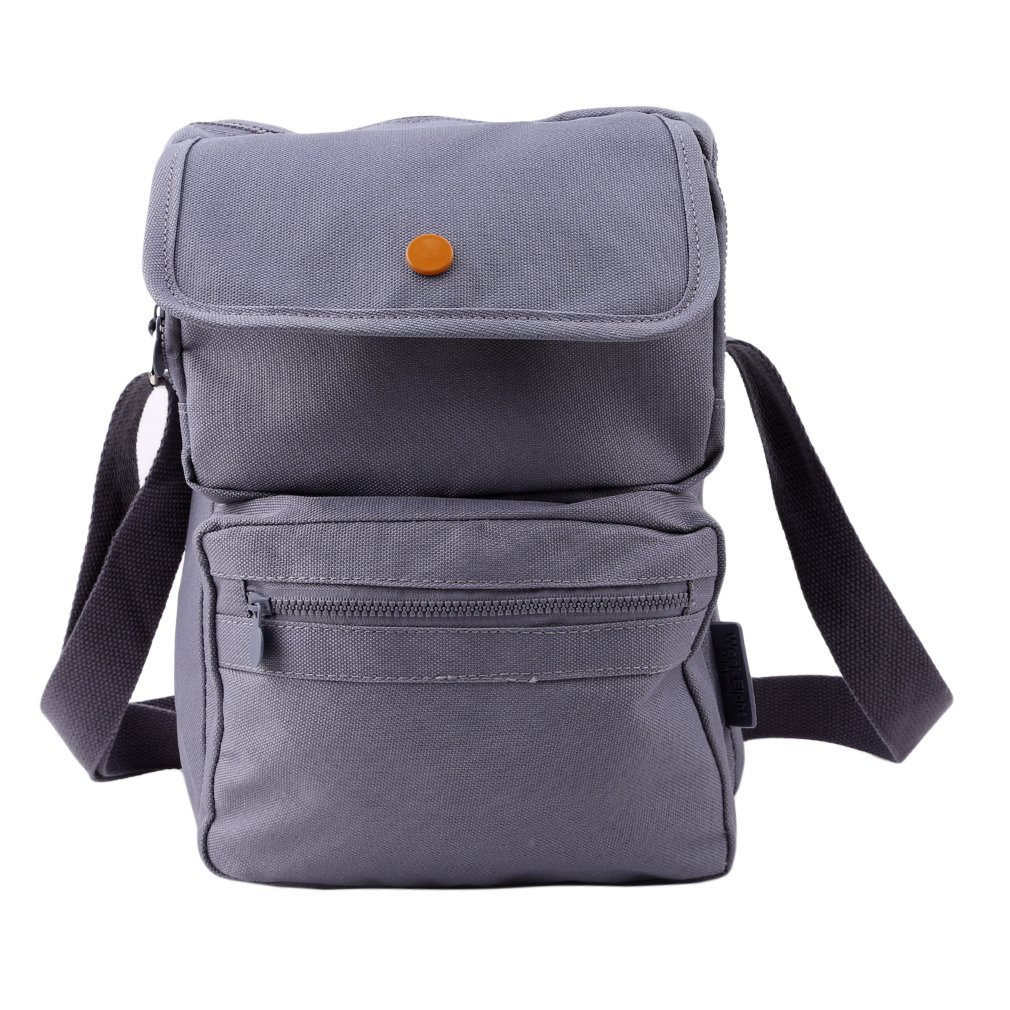 Meolin Oxford Cloth School Backpack Laptop Bag Shoulder Daypack College Bag,gray,6.82.310.6in