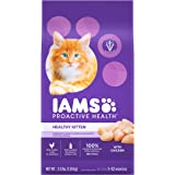 IAMS PROACTIVE HEALTH Healthy Kitten Dry Cat Food with Chicken, 1.59 kg. Bag