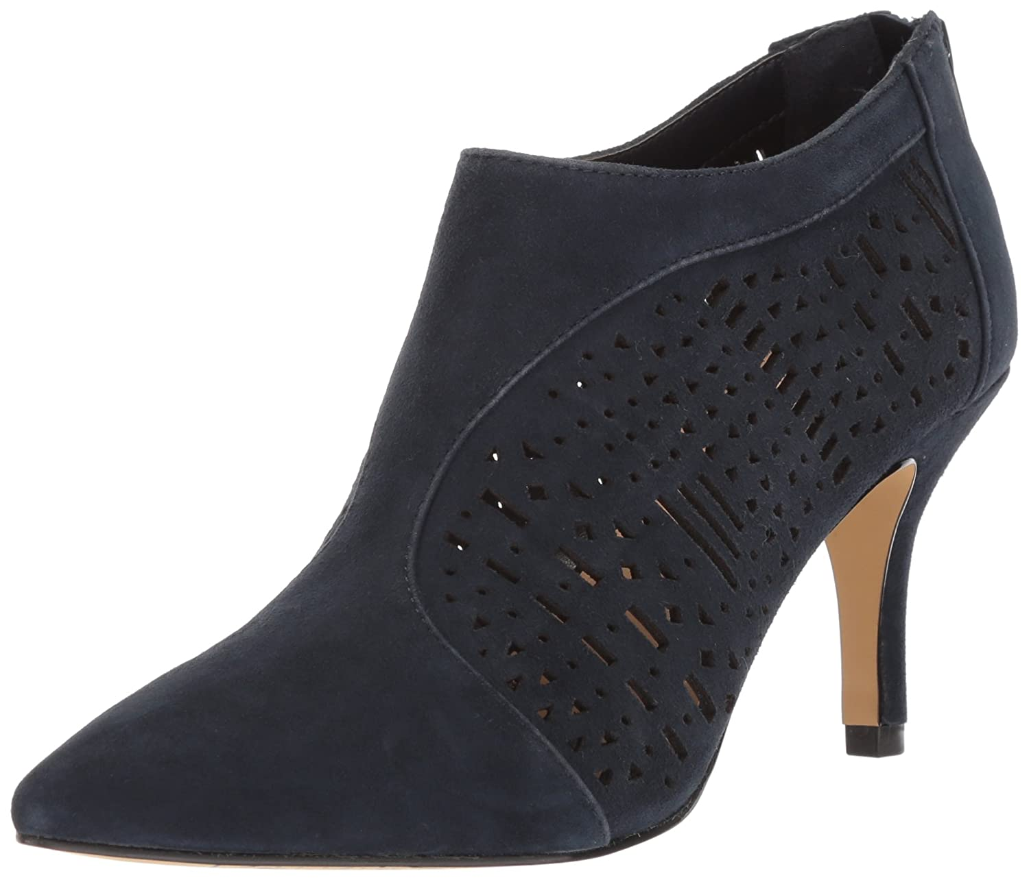 Bella Vita Women's Darlene Ankle Boot B076DNP6NB 6 B(M) US|Navy Kid Suede