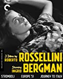 3 Films By Roberto Rossellini Starring Ingrid Bergman (Stromboli/Europe '51/Journey to Italy)(The Criterion Collection…