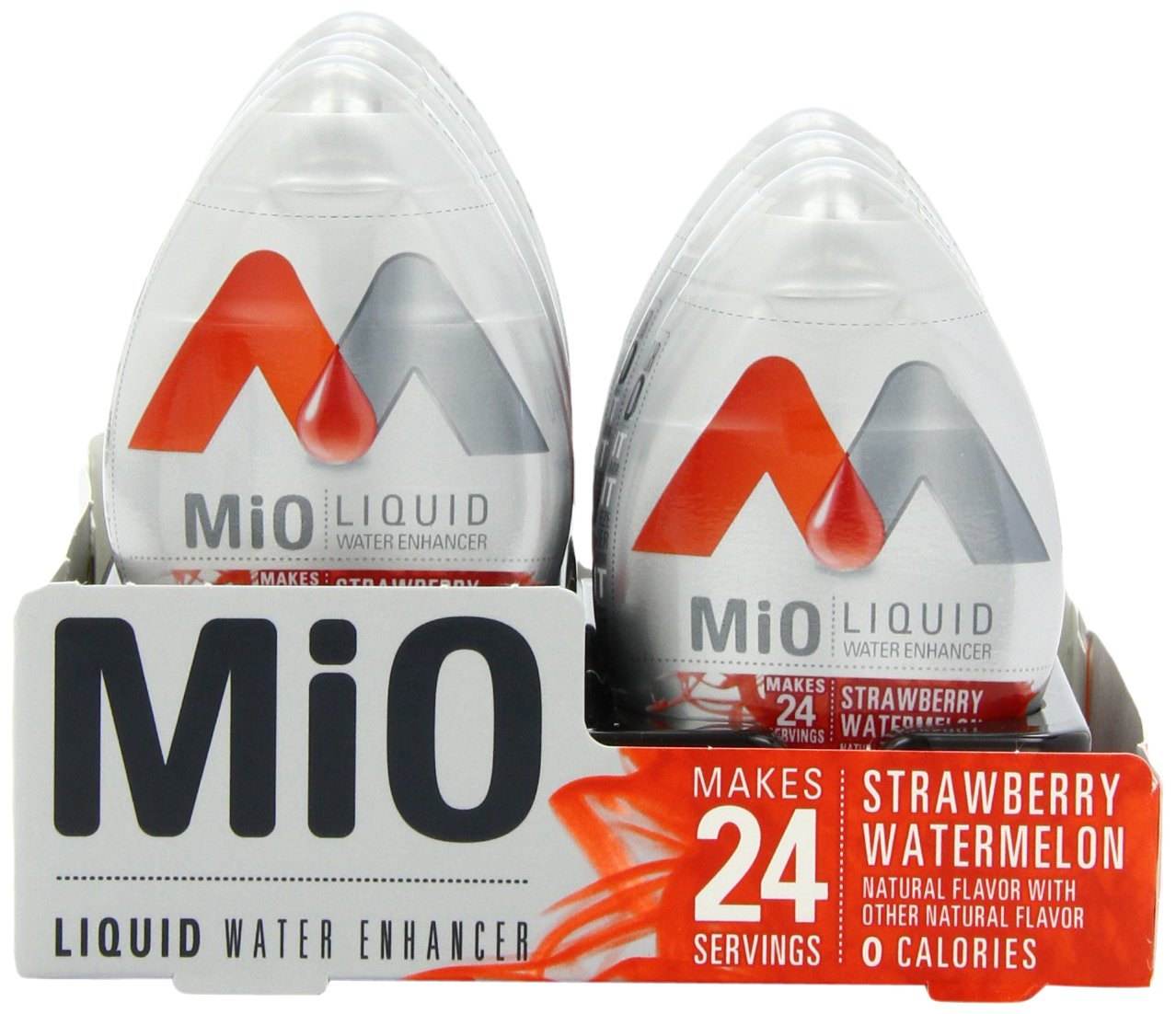 MiO Liquid Water Enhancer, Strawberry Watermelon, 1.62 Ounce (Pack of 12) by Mio