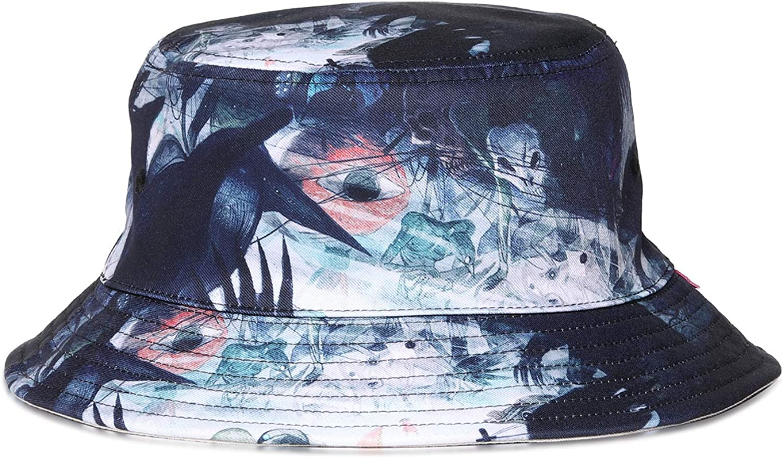 NUZADA Bucket Hat Summer Hats for Women Teens Mens Beach Fisherman Print Caps