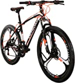 Max4out Mountain Bike 21 Speed with High Carbon Steel Frame, 26