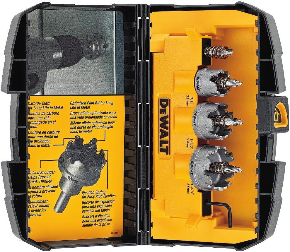 3. DEWALT DWACM1802 Hole Saw Kit