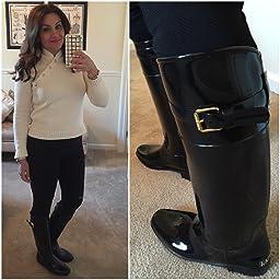 Amazon.com   Lauren Ralph Lauren Women's Rossalyn II Rain Boot   Shoes
