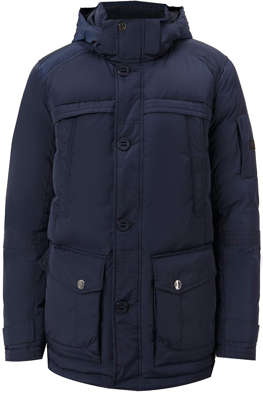 Herren Daunenjacke Man Jacket in modischem Stepp Design