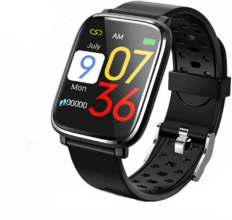 Pulsera de Actividad Inteligente, IP67 Impermeable Reloj Inteligente Pulsera Actividad Inteligente para Deporte, Reloj de Fitness con Podómetro Smartwatch-S-BL15