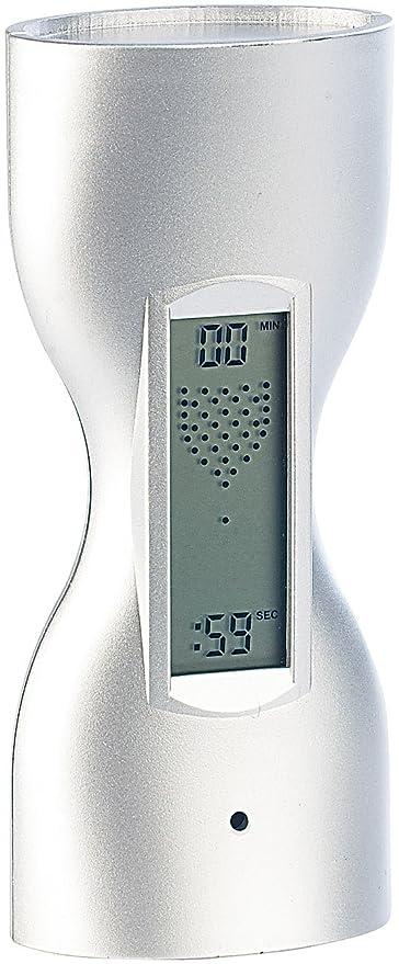 inFactory PE- 5439 - Reloj de arena digital (con temporizador para cocina, muestra
