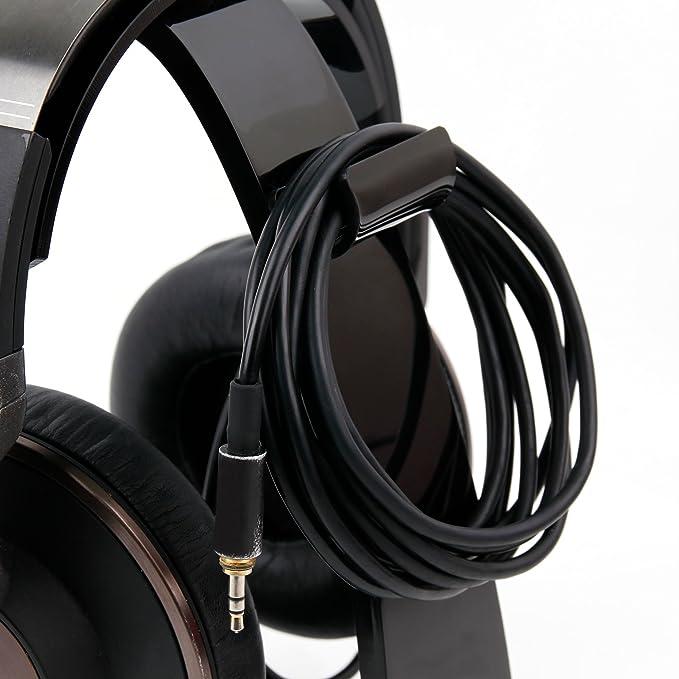 DURAGADGET Soporte para Auriculares Astro A50 Wireless / A40 TR / A38 / A50 / Verisonix I502B / I502C / N500 / N501 con recogecables.