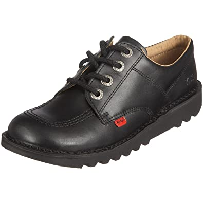 Unisex Kids Youth Kickers Kick Lo Back To School Low Leather Boots Shoes