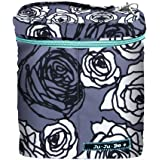 Ju-Ju-Be Fuel Cell Insulated Bottle and Lunch Bag, Charcoal Roses