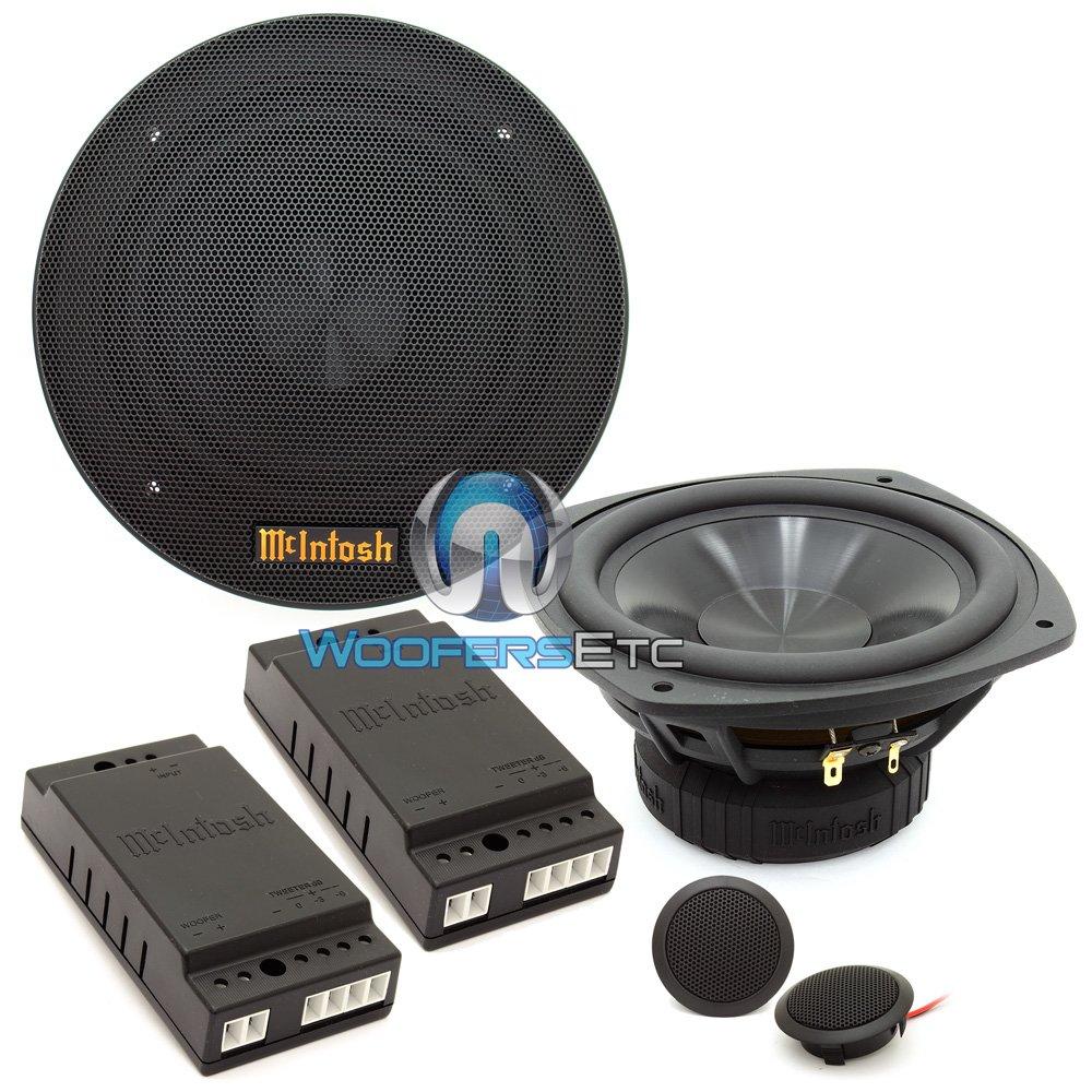 MSS630 - McIntosh 6.5'' 2-Way Sound Quality Component System by McIntosh