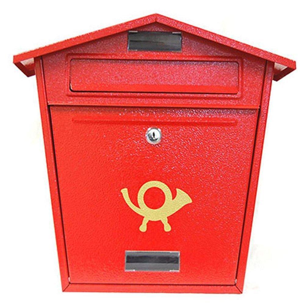 Mailbox stainless steel locking mail box letterbox postal box modern - Mailbox Stainless Steel Locking Mail Box Letterbox Postal Box Modern 54