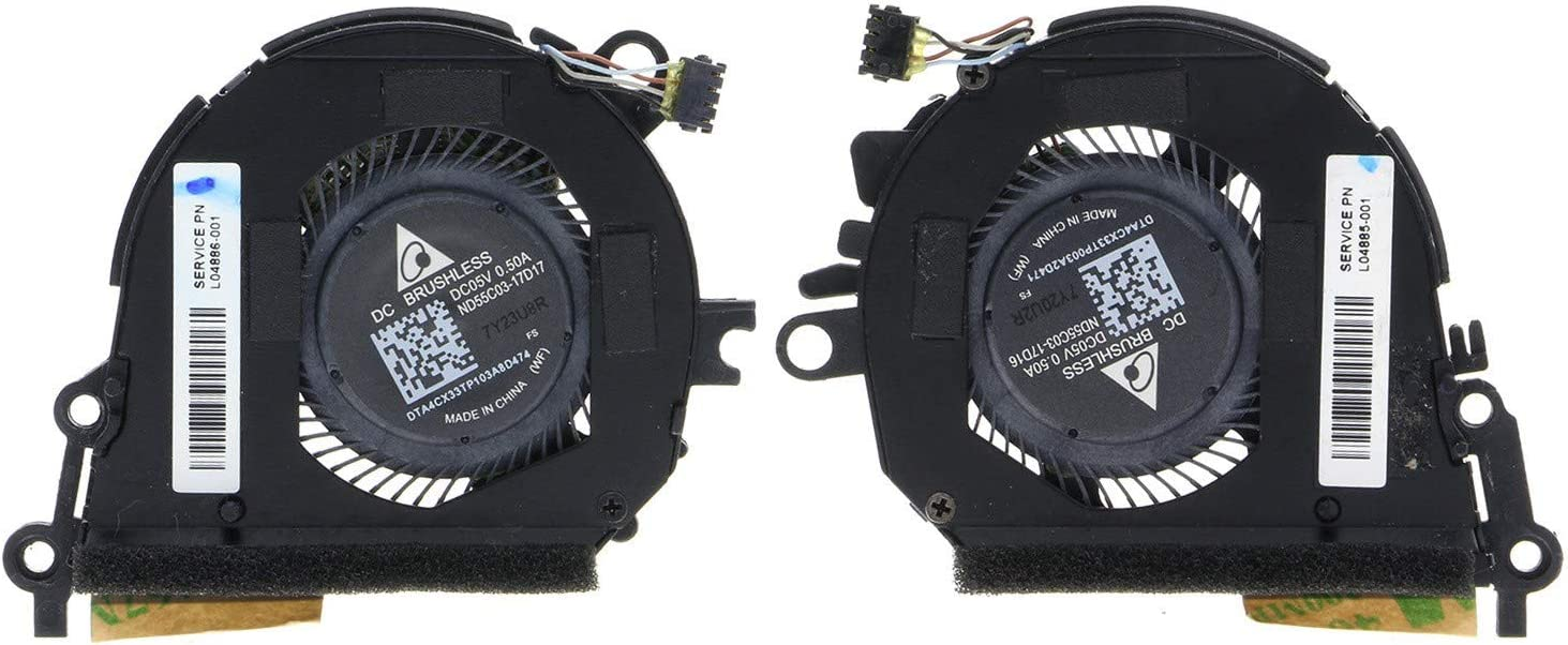 "CPU Cooling Fan for HP 13"" Spectre X360 13t-ae000 L04885-001 L04886-001"