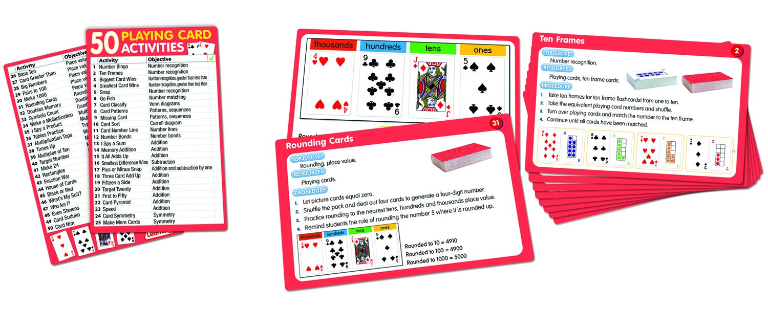 Tens Frame Playing Cards   Framejdi.org